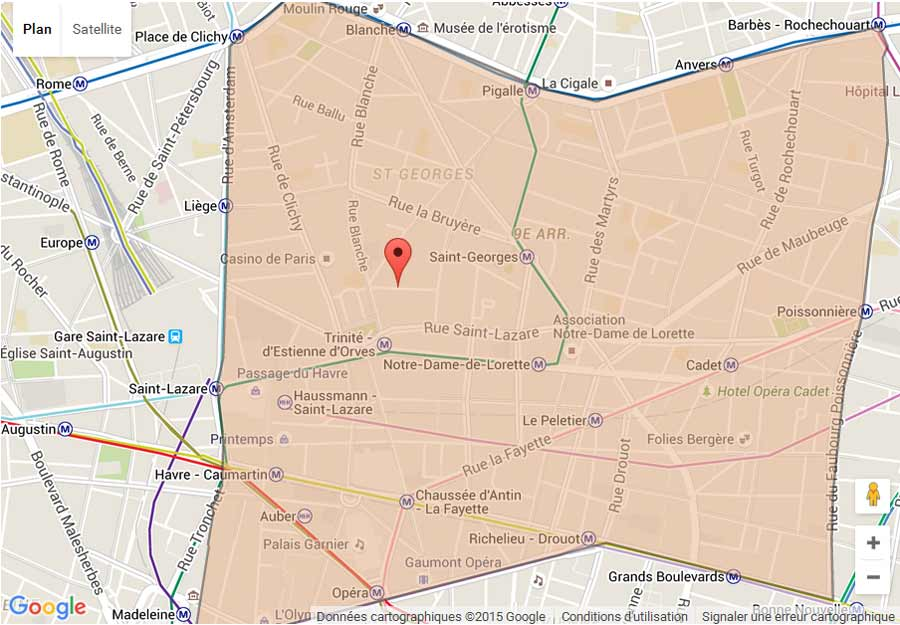 plan Paris 9