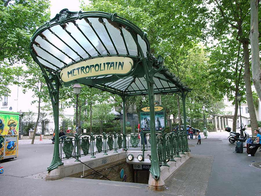 paris metro subway