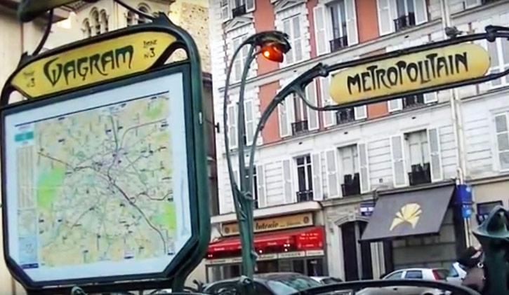 visite metro parisien