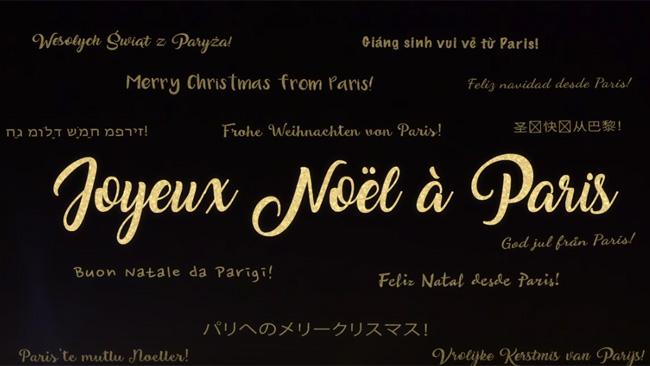 joyeux noel paris merry christmas in paris