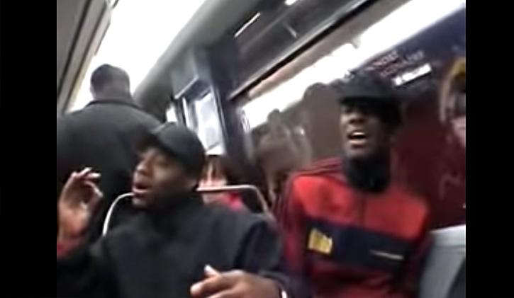 groupe Naturally7 dans le métro parisien