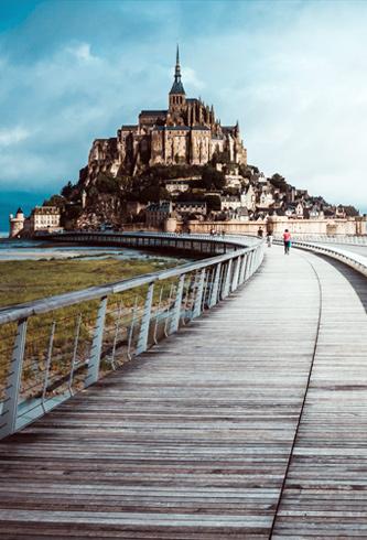 météo Normandie et Mont-St-Michel