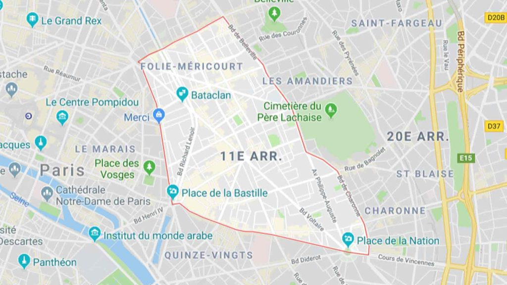 11e arrondissement de Paris 75011