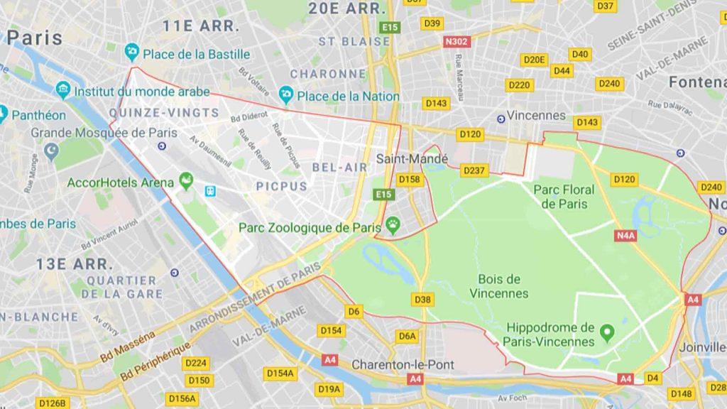 12e arrondissement de Paris 75012