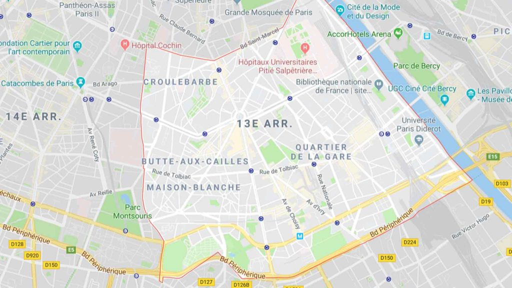13e arrondissement de Paris 75013