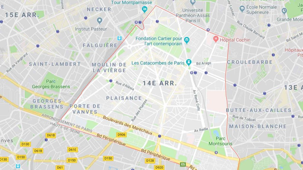 14e arrondissement de Paris 75014
