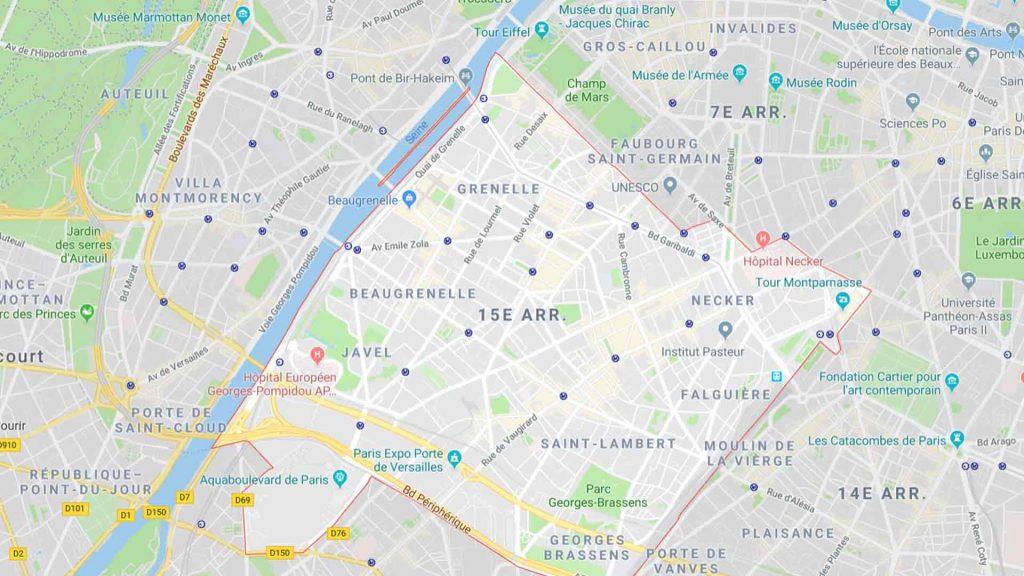 15e arrondissement de Paris 75015