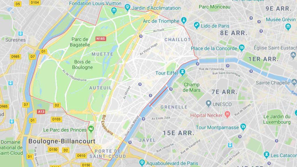 16e arrondissement de Paris 75016
