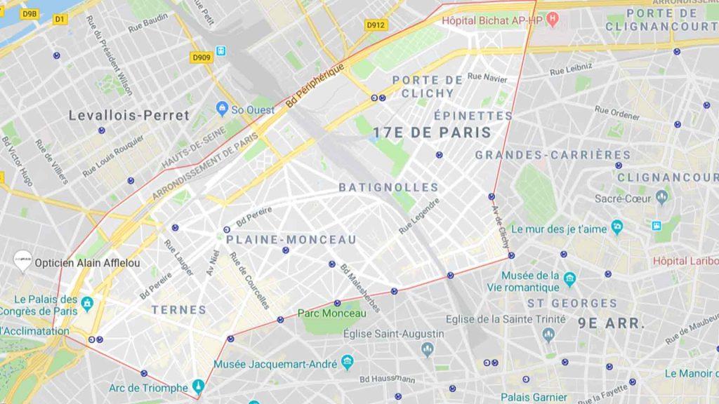 17e arrondissement de Paris 75017