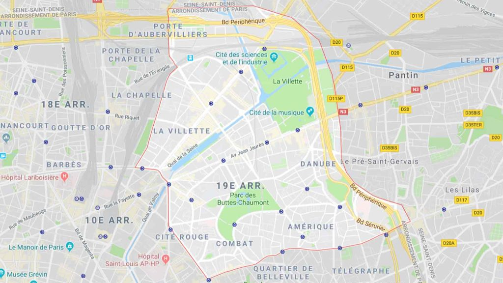 19e arrondissement de Paris 75019