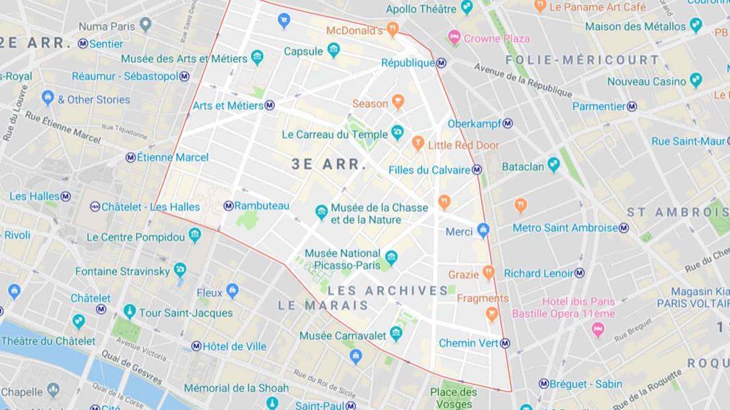 3ème arrondissement de Paris 75003