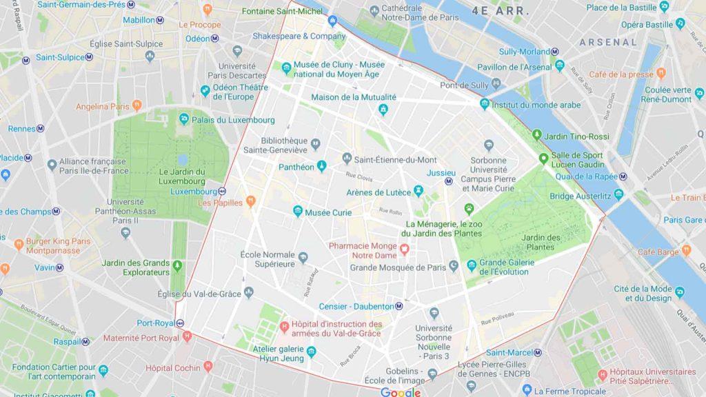 5e arrondissement de Paris 75005