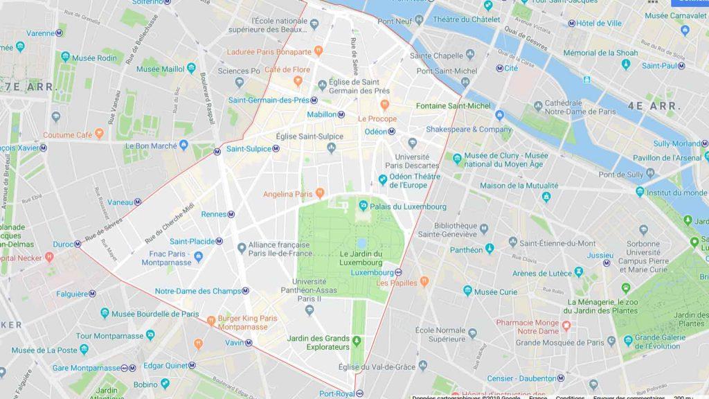 6e arrondissement de Paris 75006