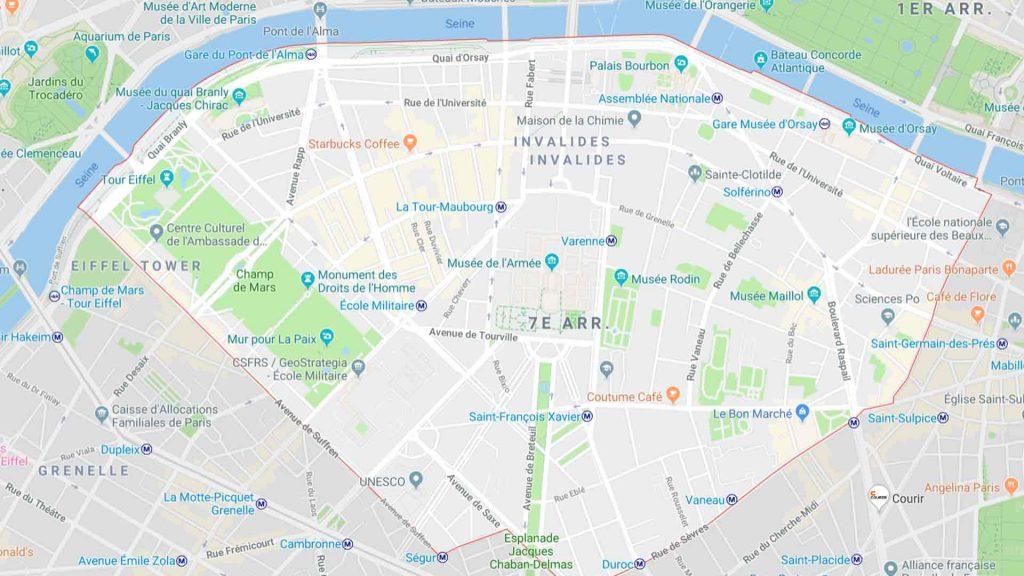 7e arrondissement de Paris 75007