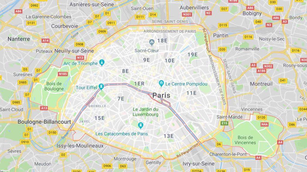 Paris rive droite