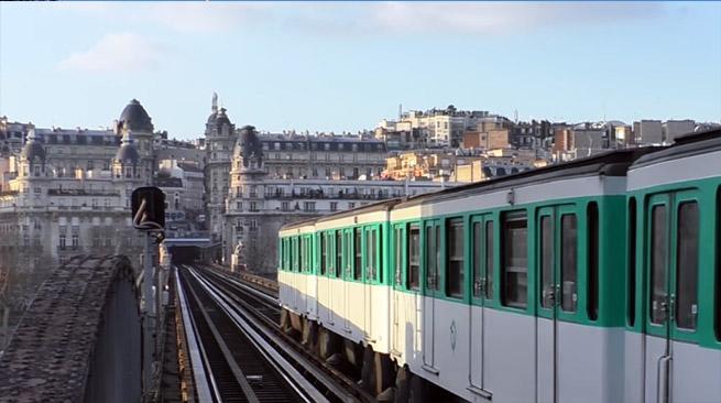 station aérienne, métro Paris