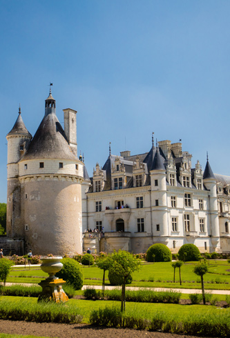 weather Loire Valley Chenonceaux