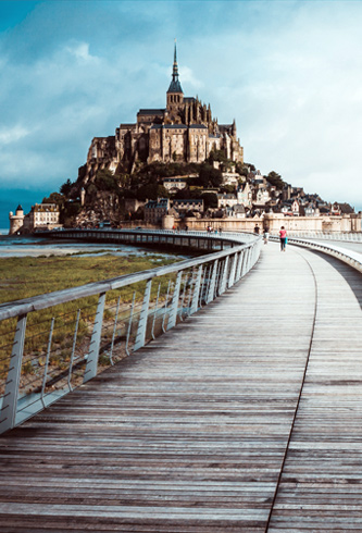 weather in Normandy and Mont-St-Michel