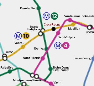 station métro Croix-Rouge va devenir un restaurant